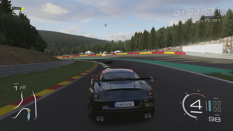 darkassassin368 playing Forza Motorsport 5