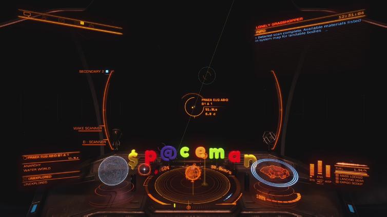 zzUrbanSpaceman playing Elite: Dangerous